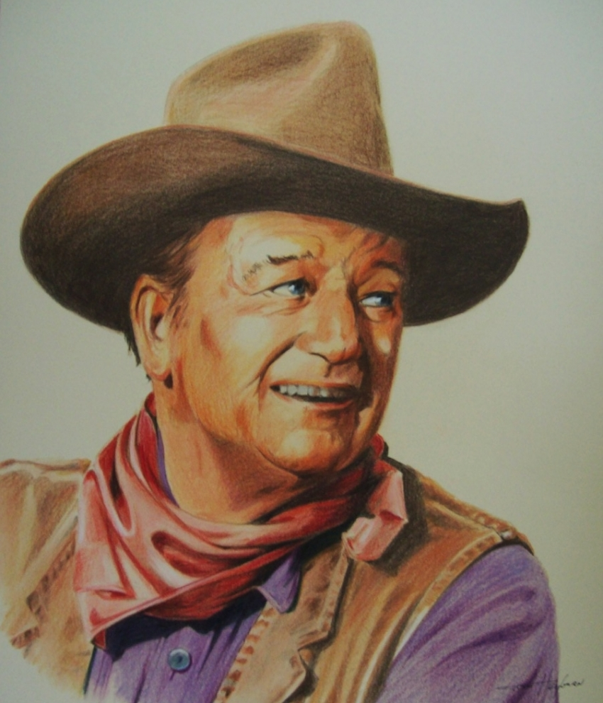 John Wayne by Tom-Heyburn